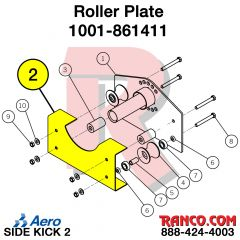 AERO - ROLLER PLATE