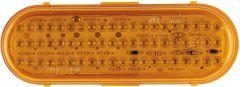 "LED - 6"" OVAL AMBER"
