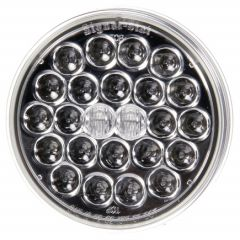 """TRUCKLITE - 4"""" ROUND LED CLEAR LENS - RED"""