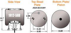 AIR BAG (1R12-568)