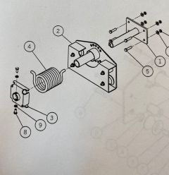 AERO - ROLLER PLATE ASSEMBLY