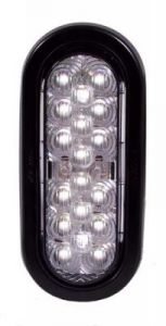 "LED - 6"" OVAL BACK UP"