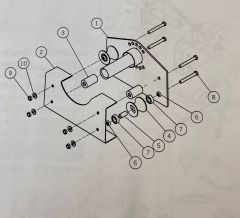 """AERO - 1/2""""-13 X 4"""" HEX BOLT"""