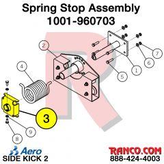 AERO - SPRING STOP ASSEMBLY