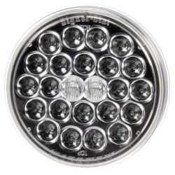 "TRUCKLITE - 4"" ROUND LED CLEAR LENS - RED"