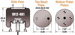 AIR BAG (1R12-481)