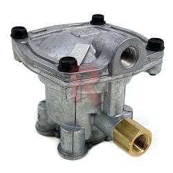 "3/4"" RESERVIOR 4-PORT SERVICE RELAY VALVE, 4.5 PSI"