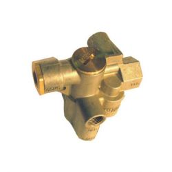SPRING BRAKE VALVE  - THIS VALVE RELEASES THE BRAKES BEFORE THE TANK IS FILLED.