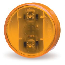 """GROTE - 2"""" CLR/MKR LED AMBER"""