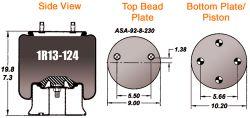 AIR BAG (1R13-124)(FS8710)