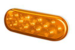 OVAL AMBER LED