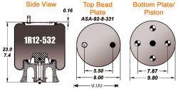 AIR BAG (1R12-532) (S-6031)