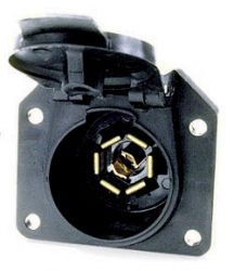 7-WAY FLAT BLADE RECEPTACLE